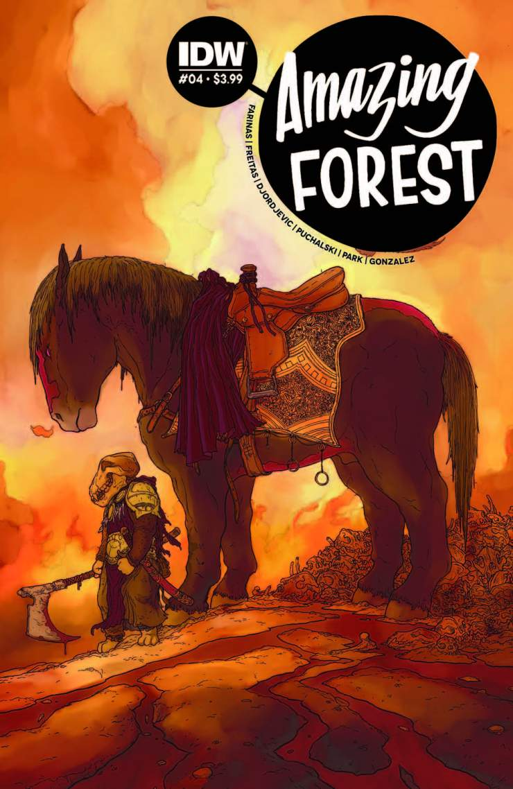 Amazing Forest #4 Review
