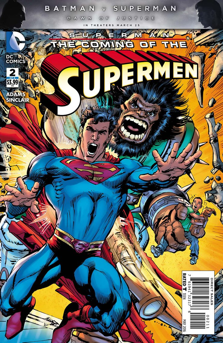 Superman:  The Coming of the Supermen #2 Review