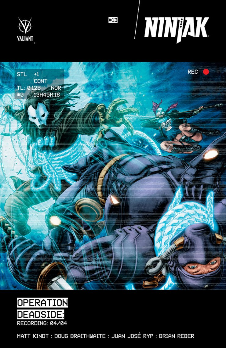 Valiant Preview: Ninjak #13