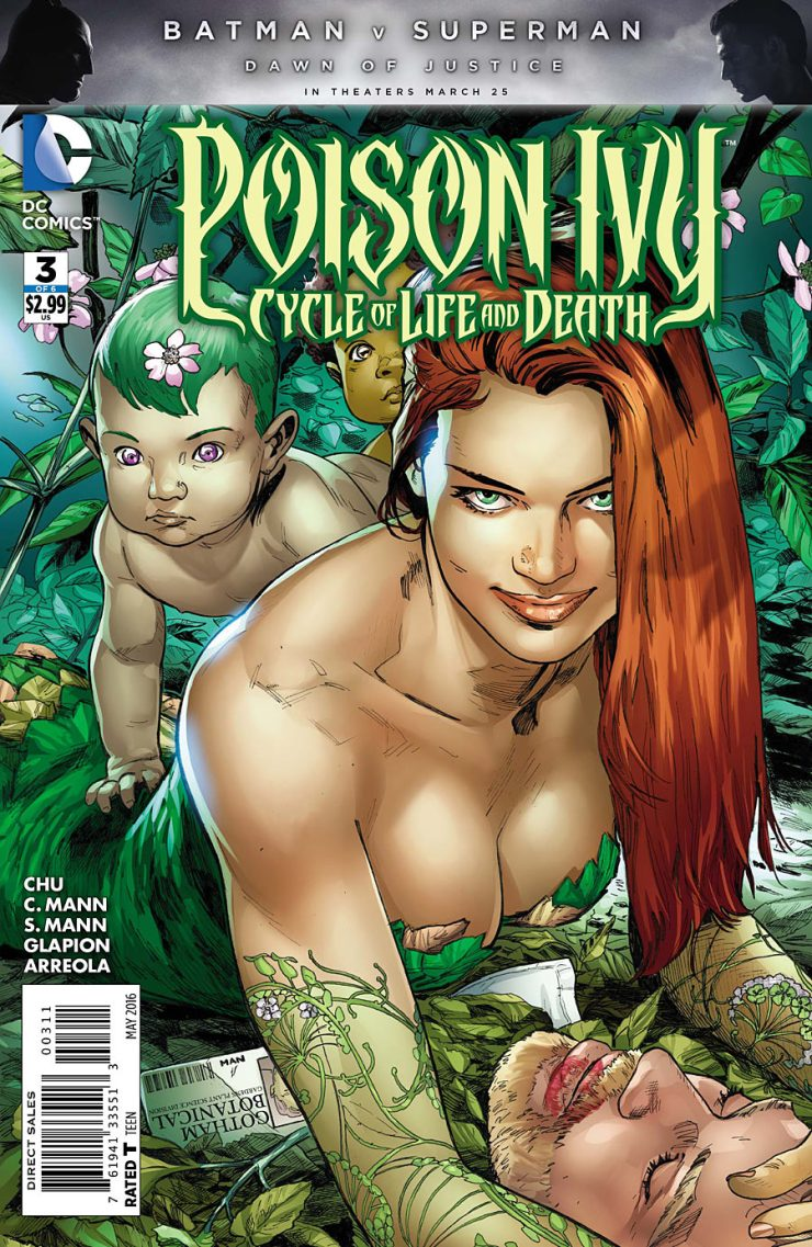 Poison Ivy:  Cycle of Life and Death #3 Review