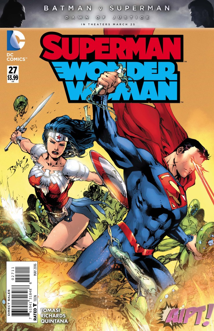 [Exclusive] DC Preview: Superman/Wonder Woman #27