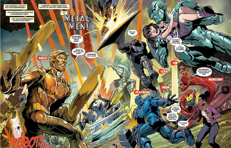Legends of Tomorrow #1 Review