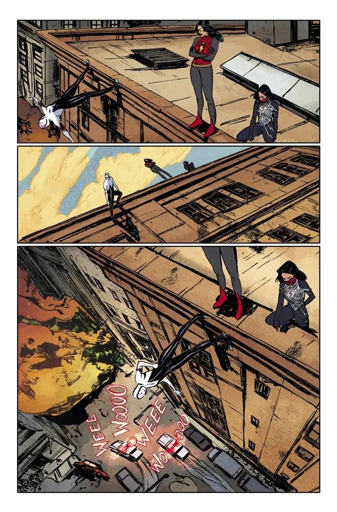 Spider-Women Silk