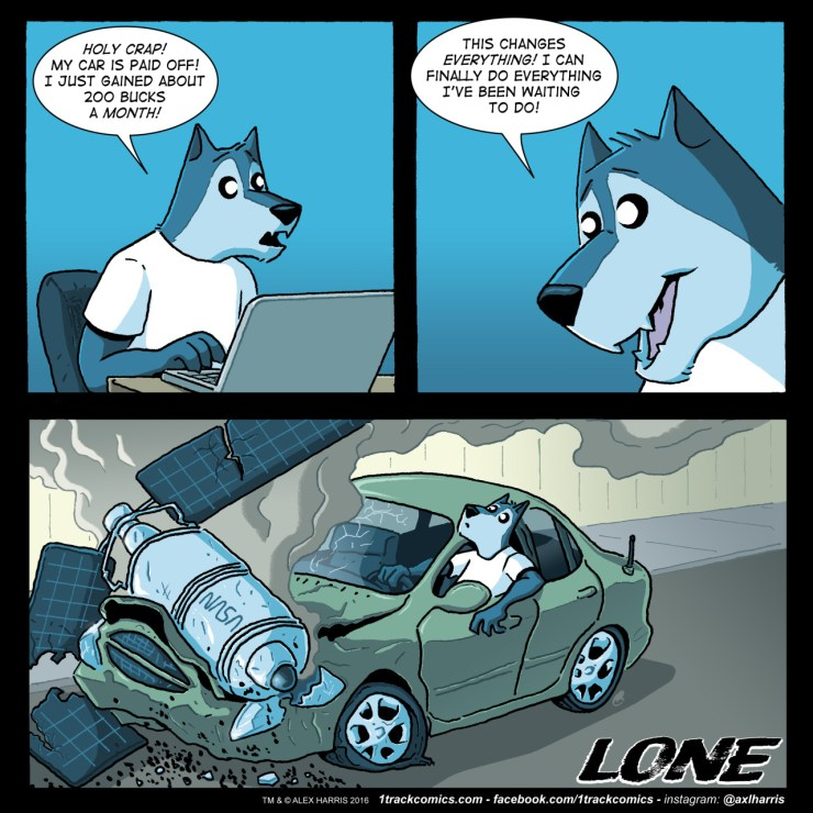 'Lone' Webcomic Review