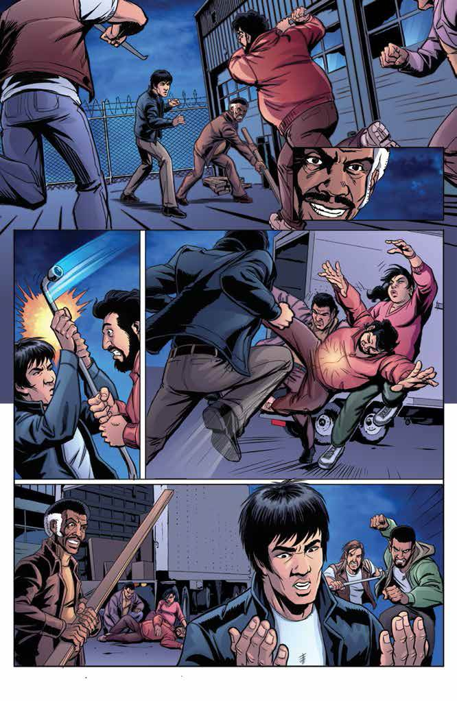 Bruce Lee: The Dragon Rises #2 Review