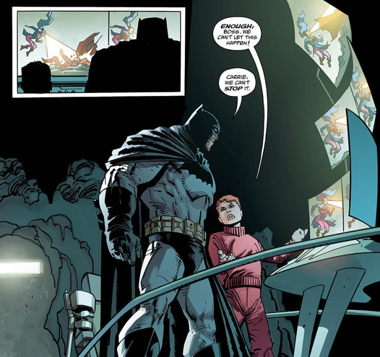 Dark Knight III: The Master Race #4 Review