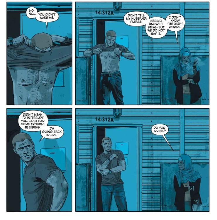 Sheriff of Babylon #5 Review