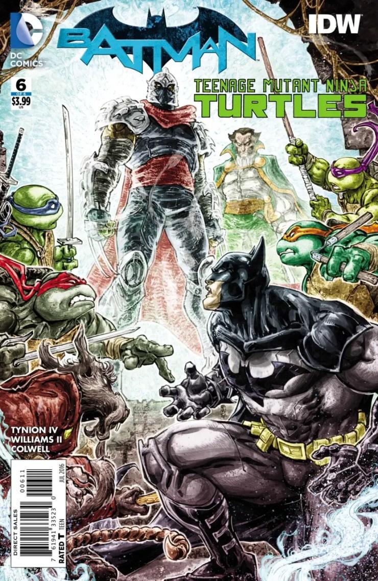 Batman/Teenage Mutant Ninja Turtles #6 Review