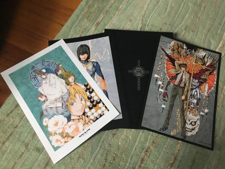 blanc et noir: Takeshi Obata Illustrations Review