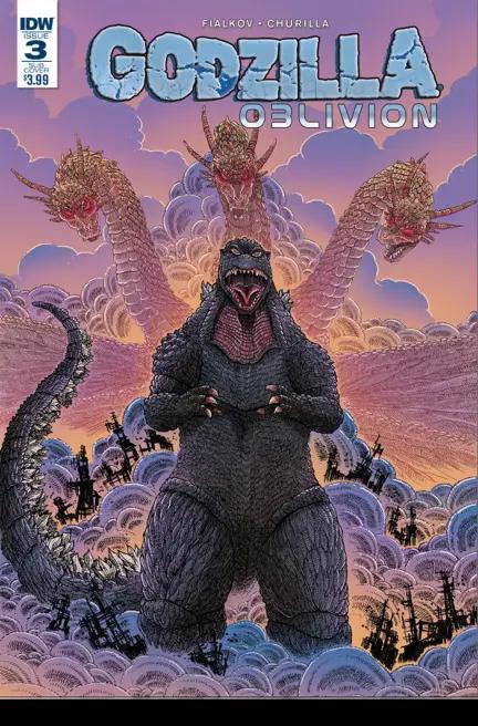 Godzilla: Oblivion #3 Review