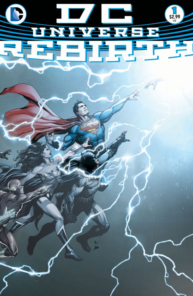 This is it folks.  Quite possibly the biggest and most anticipated release of the year.  Forget any of the new comics from Image or that new event Marvel is putting out, this is the one: the comic that is supposed to reshape the DC Universe and move it into a new era.  Let's give it a shot and find out exactly what is in store.  Is it good?