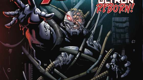 ULTRON! Hank Pym's journey leads him to a dark discovery. Something wicked this way comes...from outer space! Plus: the eagerly awaited return of Janet Van Dyne! Rated T