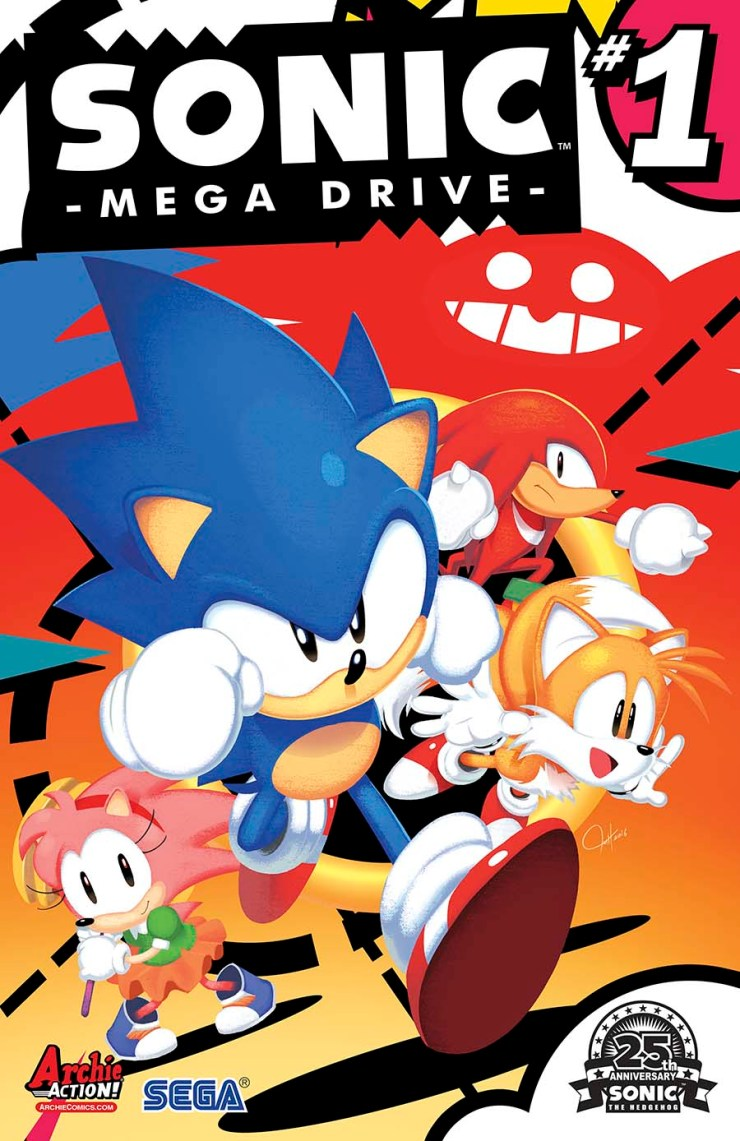 'Sonic the Hedgehog' Writer Ian Flynn talks New Series 'Sonic: Mega Drive'