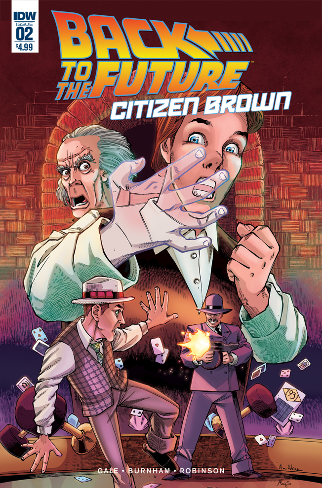 Back to the Future: Citizen Brown #2 Review