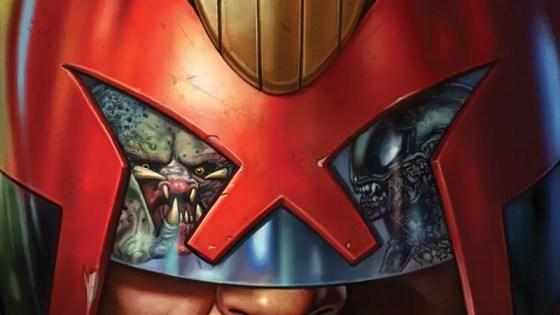Dark Horse Preview: Predator Vs. Judge Dredd Vs. Aliens #1