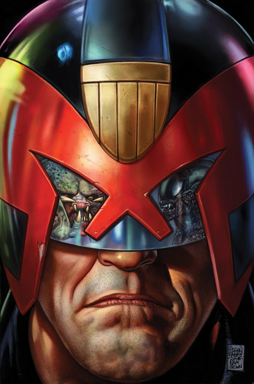 Predator vs. Judge Dredd vs. Aliens #1 Advance Review
