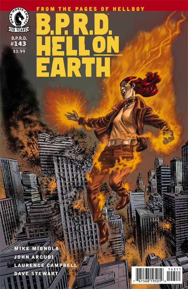 B.P.R.D. fans and those who like to wait for the ending to really dig in take notice, as the finale starts with this issue. Is it good?