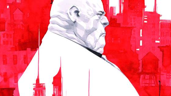 Despite the heroes' new future-seeing ally, the crime business is treating Wilson Fisk VERY well. So well, in fact, that his jealous competitors are MURDERING the Kingpin's men. And to make matters worse, the linchpin of Fisk's operation - an inhuman with the uncanny ability to stay incognito - is getting ill. Can the Kingpin find a way to keep his business afloat or is his time on top finally finished? Rated T+