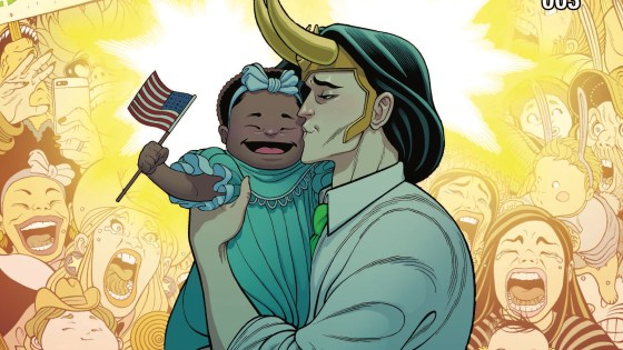 When you're running for president of the United States, it's essential to take time to mingle with your constituents, and Loki's got the American people eating out of the palm of his hand. The campaign trail isn't all shaking hands and kissing babies, though - when a destabilizing crisis hits Latveria, Loki seizes the opportunity to prove his presidential mettle (and simultaneously leave his competitors in the dust). A country's in turmoil, and the God of Mischief seems to be on top of the world. It's almost like he planned it. But surely he wouldn't cause a national catastrophe for a little good press, would he? Rated T+