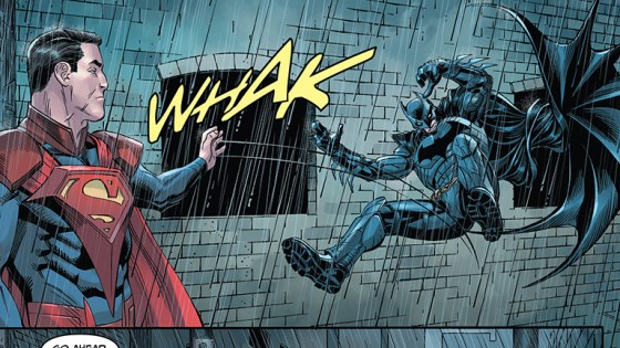 If your closest confidant died what would stop you from killing the man who killed them?  That's the question Batman is faced with in this very issue.  Is it good?