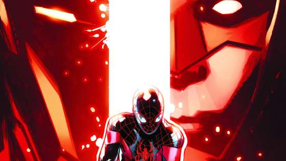 CIVIL WAR II TIE-IN! Miles Morales has only been in the Marvel Universe for a few weeks, and he's already finding himself in the middle of a war. Which side will Miles choose?! Rated T