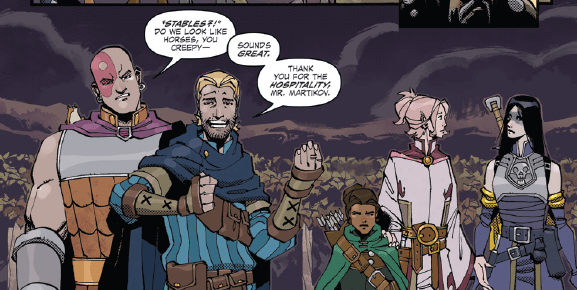 Dungeons & Dragons #3 Review