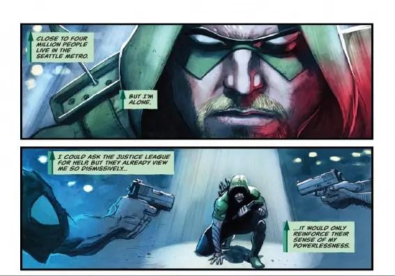 Green Arrow #4 Review