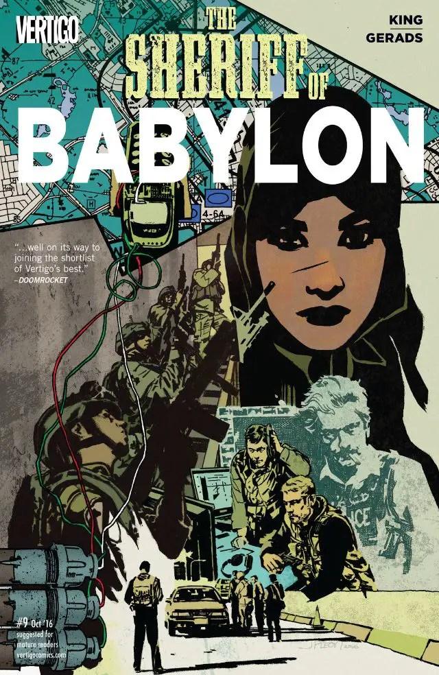 Sheriff of Babylon #9 Review
