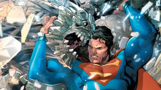 In my review of last month's Action Comics #959, I noted the reverence for Superman #75 that was evident, not only in script by Dan Jurgens – being no great surprise, as he himself had written both issues – but also in the artwork by Tyler Kirkham, with several scenes from the Death of Superman redrawn by him with exacting faithfulness.