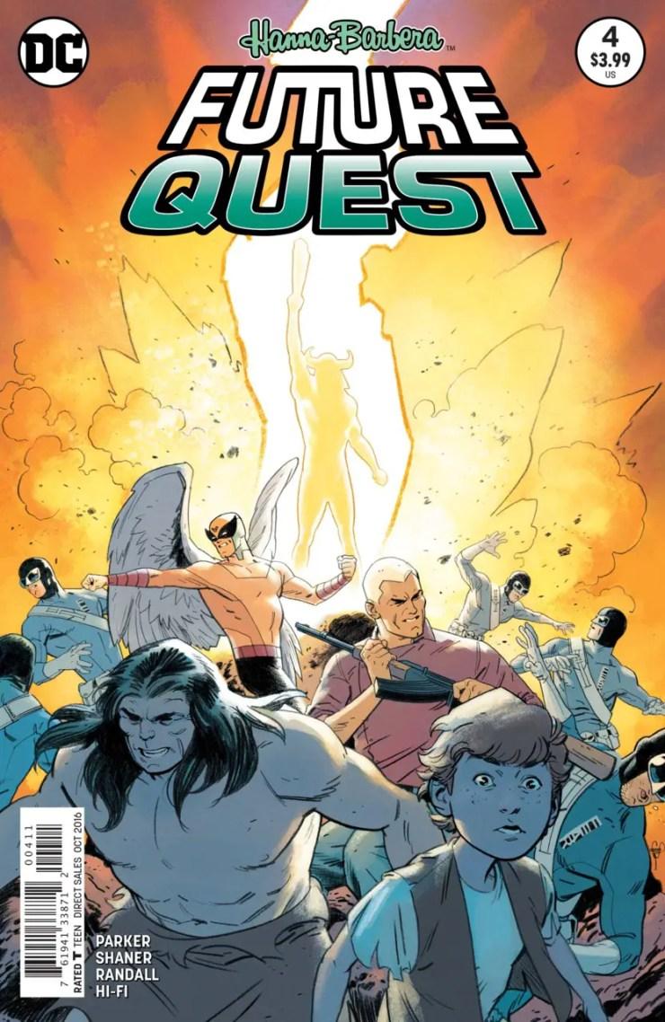 Future Quest #4 Review