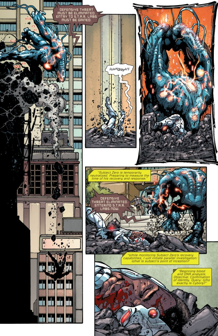 Cyborg: Rebirth #1 Review