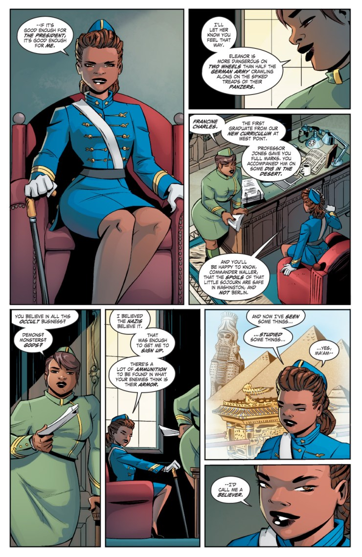 DC Comics Bombshells Annual #1 Review