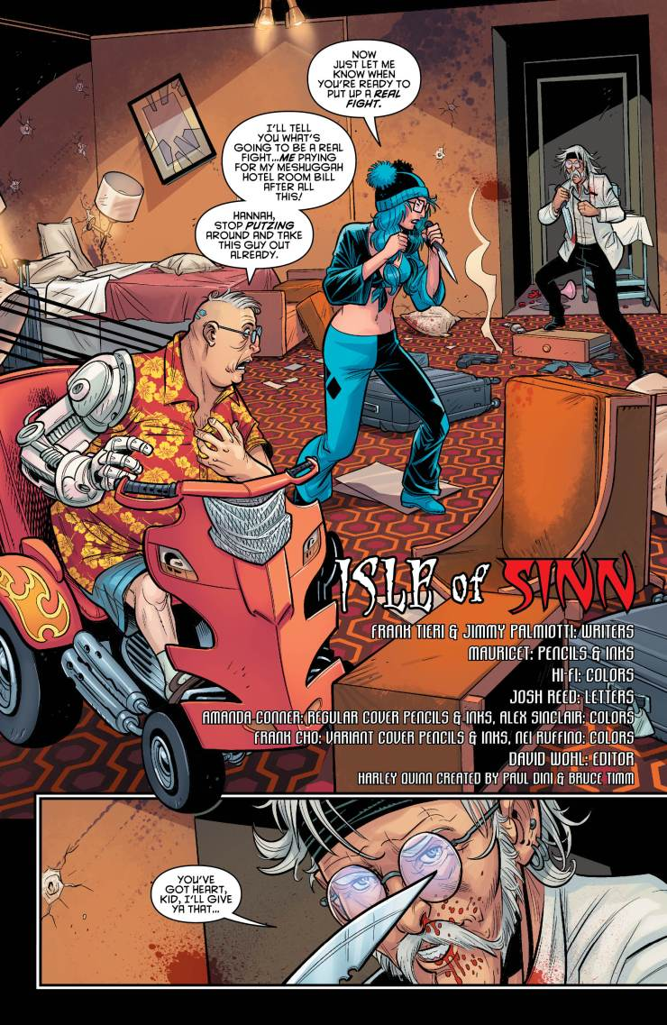 Harley Quinn and Her Gang of Harleys #4 Review