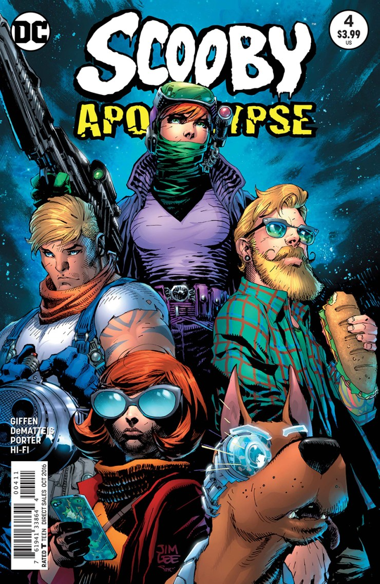 Scooby Apocalypse #4 Review