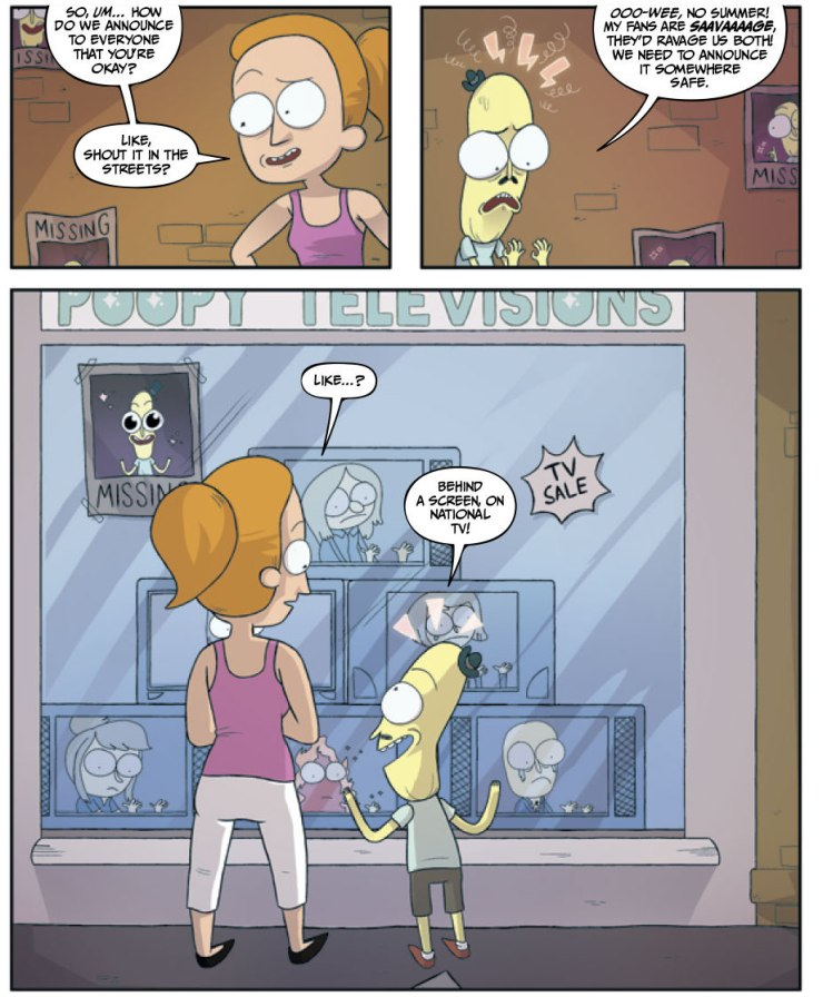 Rick and Morty: Lil' Poopy Superstar #2 Review