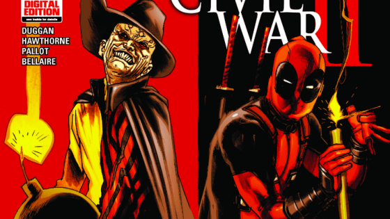 CIVIL WAR II TIE-IN! Remember when Deadpool's inner monologues were at war? Now, one of those voices is out and about?revealed as MADCAP! And he's got a mad-on for REVENGE! Parental Advisory