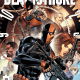 I was a pretty big fan of Deathstroke: Rebirth #1, so I was looking forward to reading the proper Deathstroke #1, conveniently released just two weeks later. Once again, this issue is written by Christopher Priest, penciled by Carlo Pagulayan, inked by Jason Paz, colored by Jeremy Cox, and lettered by Willie Schubert. Is it good?
