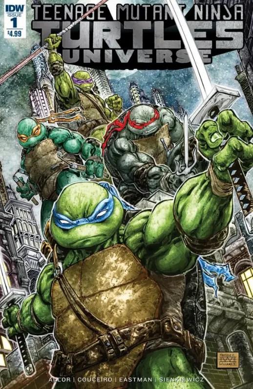 Teenage Mutant Ninja Turtles Universe #1 Review