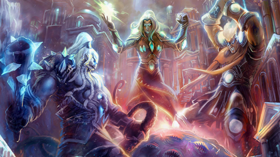 Hearthstone: 'Battle of the Black Empire' Tavern Brawl Concept - The Titans