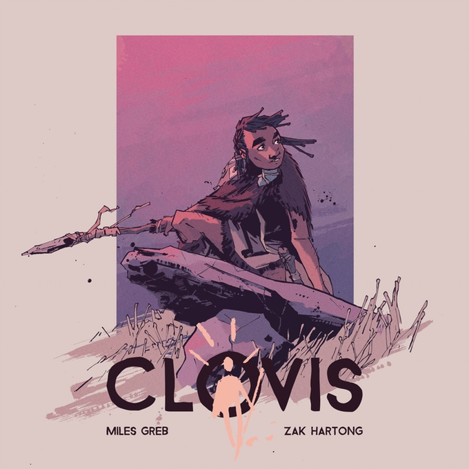 """A (Scientifically Accurate) Blast from the Past: Interview with """"Clovis"""" Creator Miles Greb"""