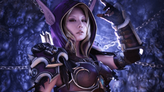 Tasha from Spiral Cats is back at it again with a killer Sylvanas cosplay.  We've already seen her rep an amazing Diablo III Crusader cosplay and this one is every bit as impressive; it also fits the look of Sylvanas as she'll appear for the upcoming World of Warcraft expansion, Legion.