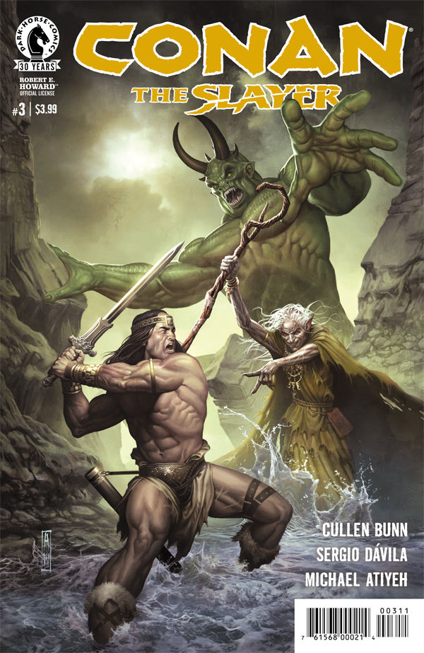 Cullen Bunn has gifted us a gory, surefooted Conan series with a bit of magic and sorcery just under the surface. Combined we've got a sword and sorcery epic on our hands, but is it good?
