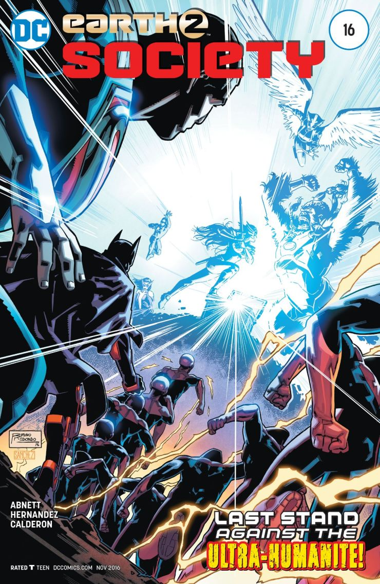 Earth 2: Society #16 Review