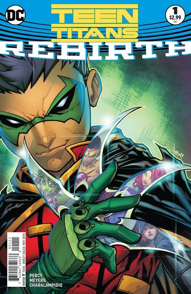 Teen Titans: Rebirth #1 Review