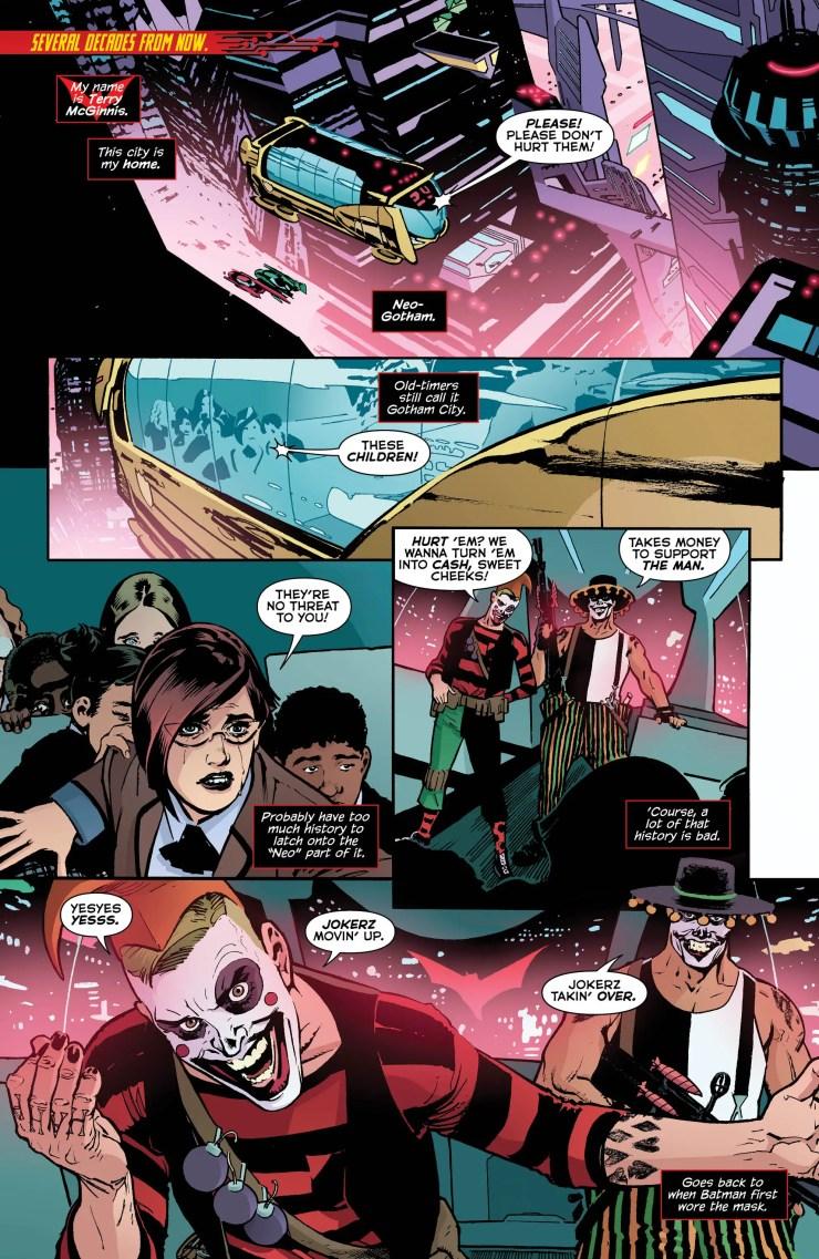 Batman Beyond: Rebirth #1 Review