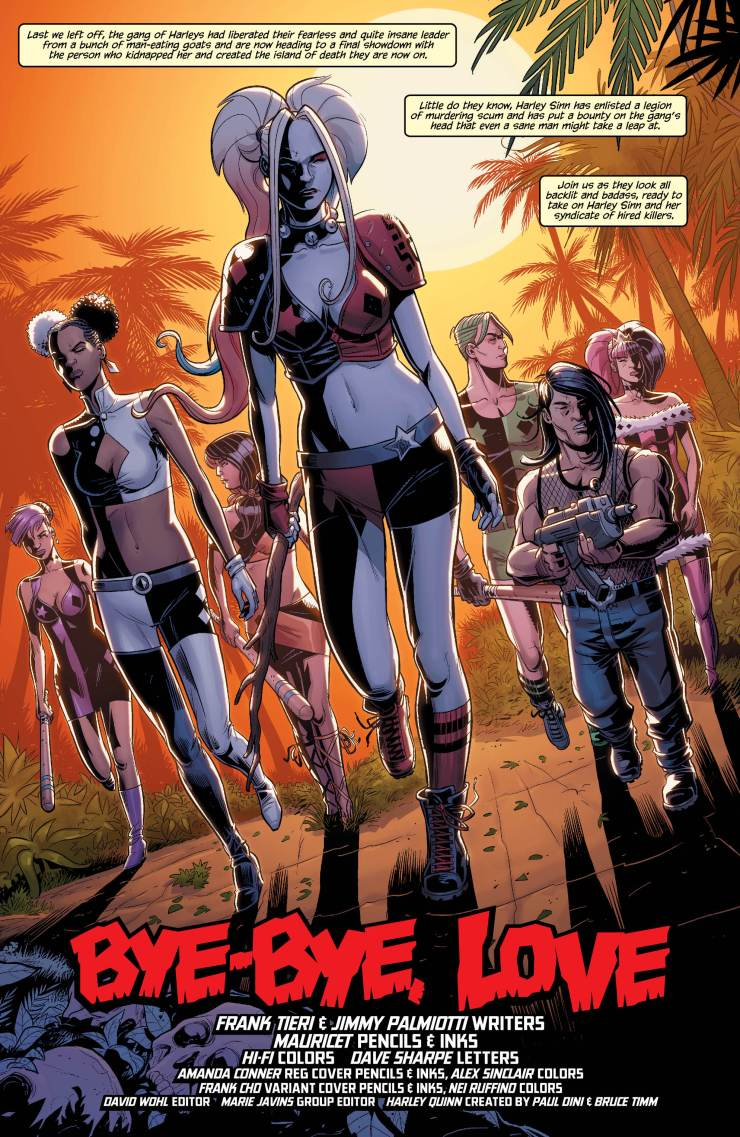 Harley Quinn and her Gang of Harleys #6 Review