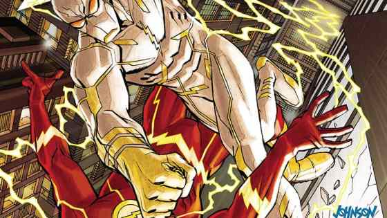 DC's epic adventure with The Flash continues. Williamson and Di Giandomenico continue building the tension with the speedsters and their new foe, Godspeed. The murderous villain that has appeared to attack those with the speed force is at it again. The issue this week is packed of tension. Barry's working hard on finding where this terror is hiding but while doing so he finds himself neglecting friends and family. With inner turmoil and outer pain, this issue has a lot to offer. Is it good?