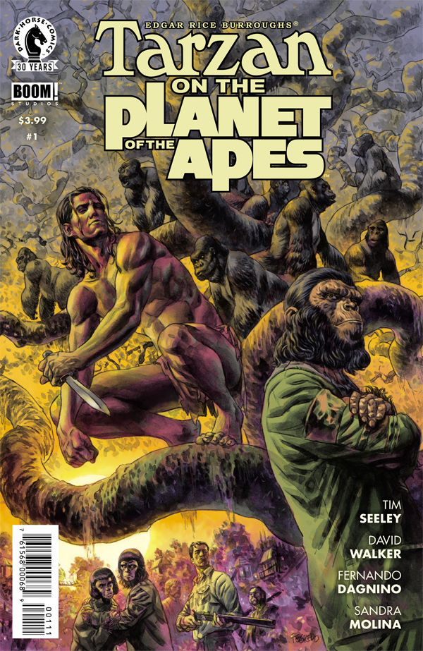 Tarzan on the Planet of the Apes #1 Review