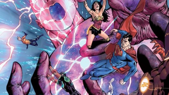 """The """"Extinction Machine"""" concludes this week as the Justice League attempt to stop godlike beings literally made of humans from destroying everything. That's metal as hell, but is it good?"""