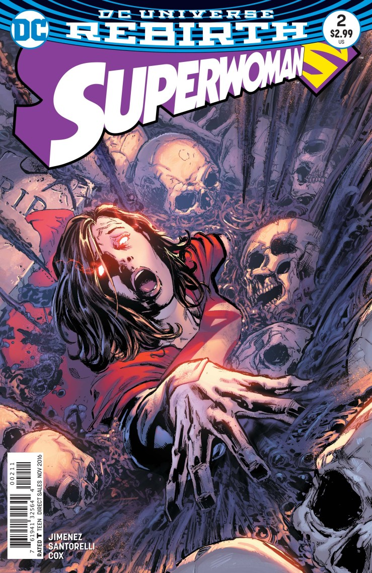 With so many DC titles on the new bi-weekly schedule, it seems like it's been forever since the first issue of Superwoman and boy was THAT an issue. Packed with a slew of twists, the series introduction has left readers waiting on the edge of their seats for weeks. We finally get our hands on #2--is it good?
